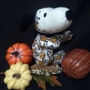 Snoopy Floppy Halloween Spiderweb Plush Hallmark